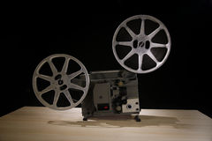 репроектор пленки 16mm Стоковое Изображение