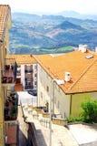 Републич Оф Сан Марино, Италия стоковое изображение rf