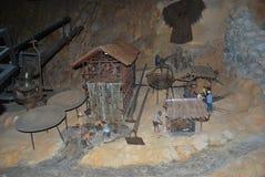 Реплика золотодобывающего рудника Стоковые Фотографии RF