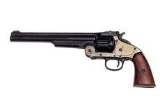Реплика оружия на белизне Стоковое фото RF