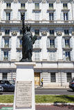 Реплика статуи свободы в славном в Франции Стоковое Изображение