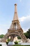 Реплика Эйфелевой башни в мини Сиаме Стоковые Изображения RF