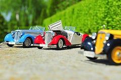 Реплики масштабной модели автомобиля немца родстера Audi 225 переднего Стоковые Изображения