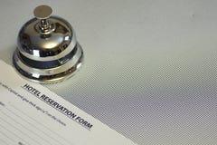 Ресервирование гостиничного номера стоковое изображение rf
