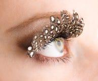 ресницы глаза ложные Стоковые Изображения RF