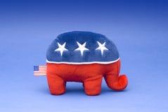 республиканец партии слона Стоковое Изображение