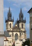 республика 2009 европы prague эмблемы дверей церков чехословакская Стоковая Фотография RF