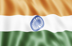республика Индии флага Стоковые Фото