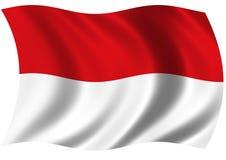 республика Индонесии Стоковая Фотография