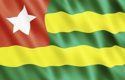 республика Того togolese флага Стоковые Фото
