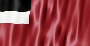 республика Georgia флага Стоковое Изображение RF