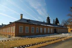 республика kozel замока чехословакская Стоковые Фотографии RF