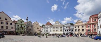 республика krumlov 27 cesky чехословакская июль Стоковая Фотография