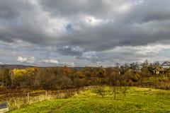 республика moldova ландшафта осени Стоковое Изображение RF