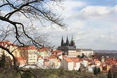 республика prague замока чехословакская Стоковое фото RF