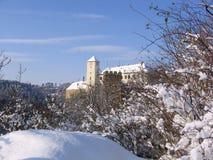 республика европы замока bitov чехословакская Стоковые Фотографии RF
