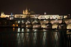 республика charles чехословакская prague моста Стоковое Изображение RF