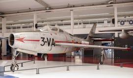 Республика F-84F Thunderstreak 1950 в музее Astronauti Стоковое Фото