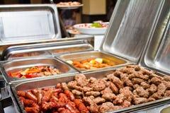 Ресторанное обслуживаниа BBQ Стоковые Изображения