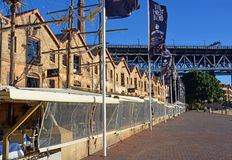 Рестораны в форме винтажных парусных суден в Сиднее Стоковая Фотография