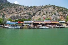 Рестораны рыб Стоковая Фотография