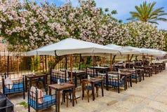 Рестораны старое Souk Byblos Jbeil Ливан стоковые фотографии rf