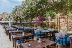 Рестораны старое Souk Byblos Jbeil Ливан стоковые фото