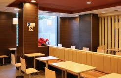 Рестораны, стул и таблица, Стоковые Изображения