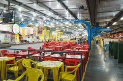 Рестораны централи Feira в городе Campo большом стоковое изображение