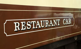 ресторан автомобиля Стоковое Изображение RF