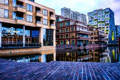 Ресторан Амстердам Loetje стоковые фотографии rf