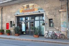 Ресторан Берлина Стоковые Фото