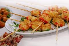 Ресторан блюда Стоковое Фото
