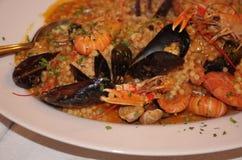 Ресторан блюда Стоковое Изображение