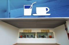 ресторан быстро-приготовленное питания Стоковая Фотография RF