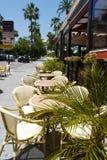 Ресторан в Марбелье Стоковое Изображение