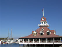 ресторан залива Стоковая Фотография