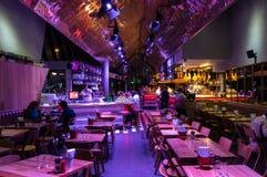 Ресторан и бар ради на Hamer Hall в центральном Мельбурне Стоковое Фото