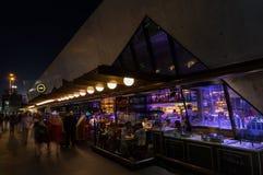 Ресторан и бар ради на Hamer Hall в центральном Мельбурне Стоковые Фото