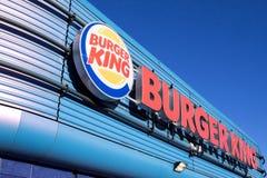 ресторан короля быстро-приготовленное питания бургера Стоковая Фотография