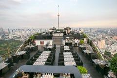Ресторан крыши верхний Стоковые Изображения RF