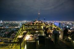 Ресторан крыши верхний Стоковые Фотографии RF