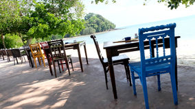 Ресторан курорта Таиланда внешний Стоковая Фотография RF