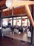 ресторан лобби гостиницы Стоковое фото RF