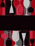 ресторан меню карточки Стоковое Изображение RF