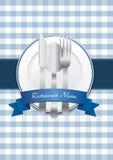 ресторан меню конструкции Стоковая Фотография RF