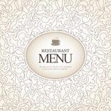 ресторан меню конструкции Стоковые Фото