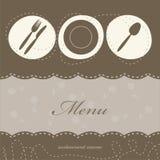 ресторан меню иллюстрация вектора