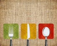 ресторан меню Стоковая Фотография RF