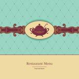 ресторан меню Стоковые Фотографии RF